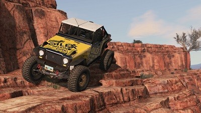 BeamNG 4x4 offroad incredible realism
