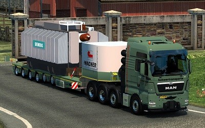 ETS 2 electric cargo